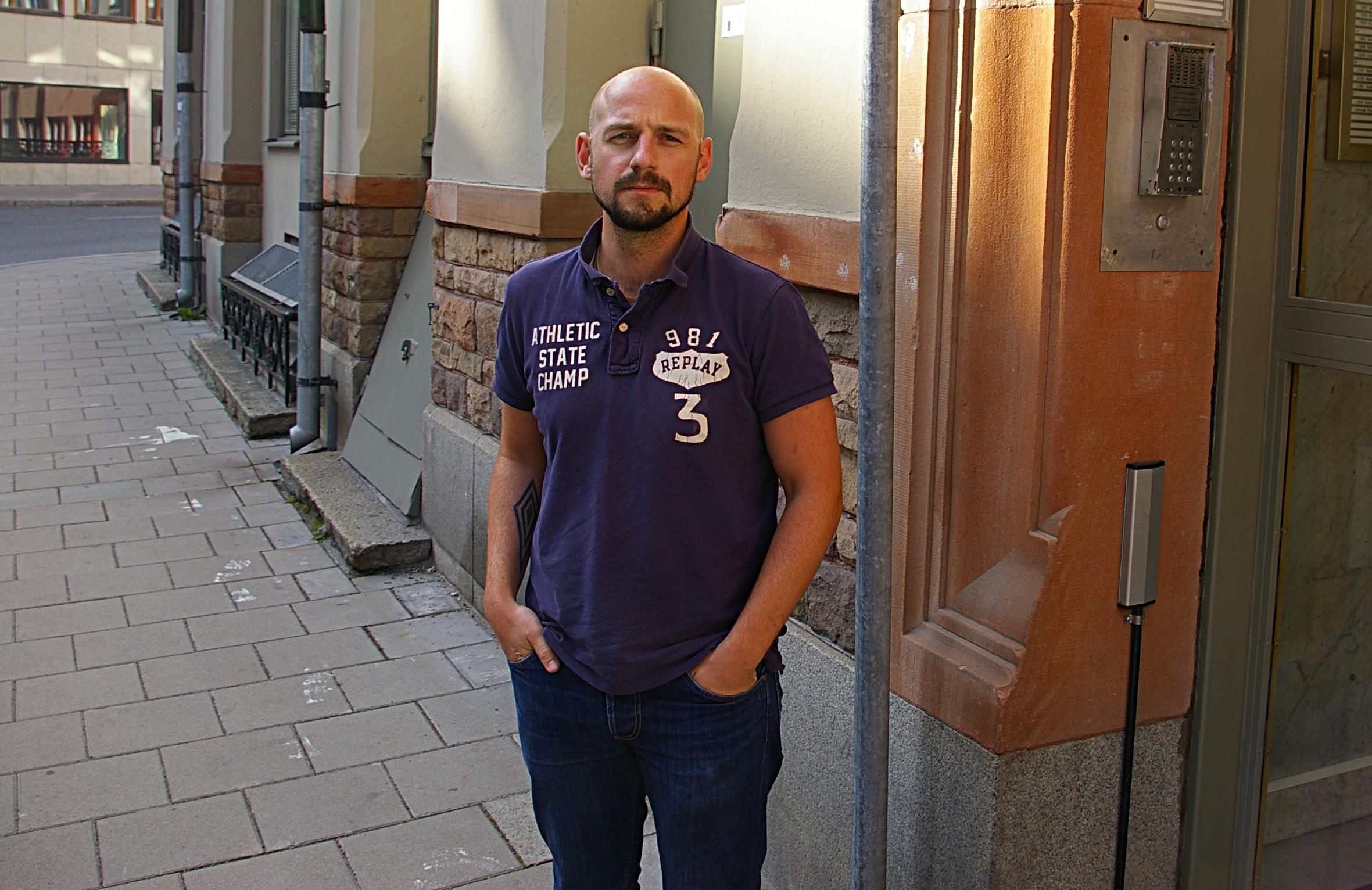 Martin Lindgren, ordförande för Svensk Pilotförening, tror att svenska fack kan ta strid mot Ryanair precis som danska fack har gjort. Foto: Erik Hjärtberg