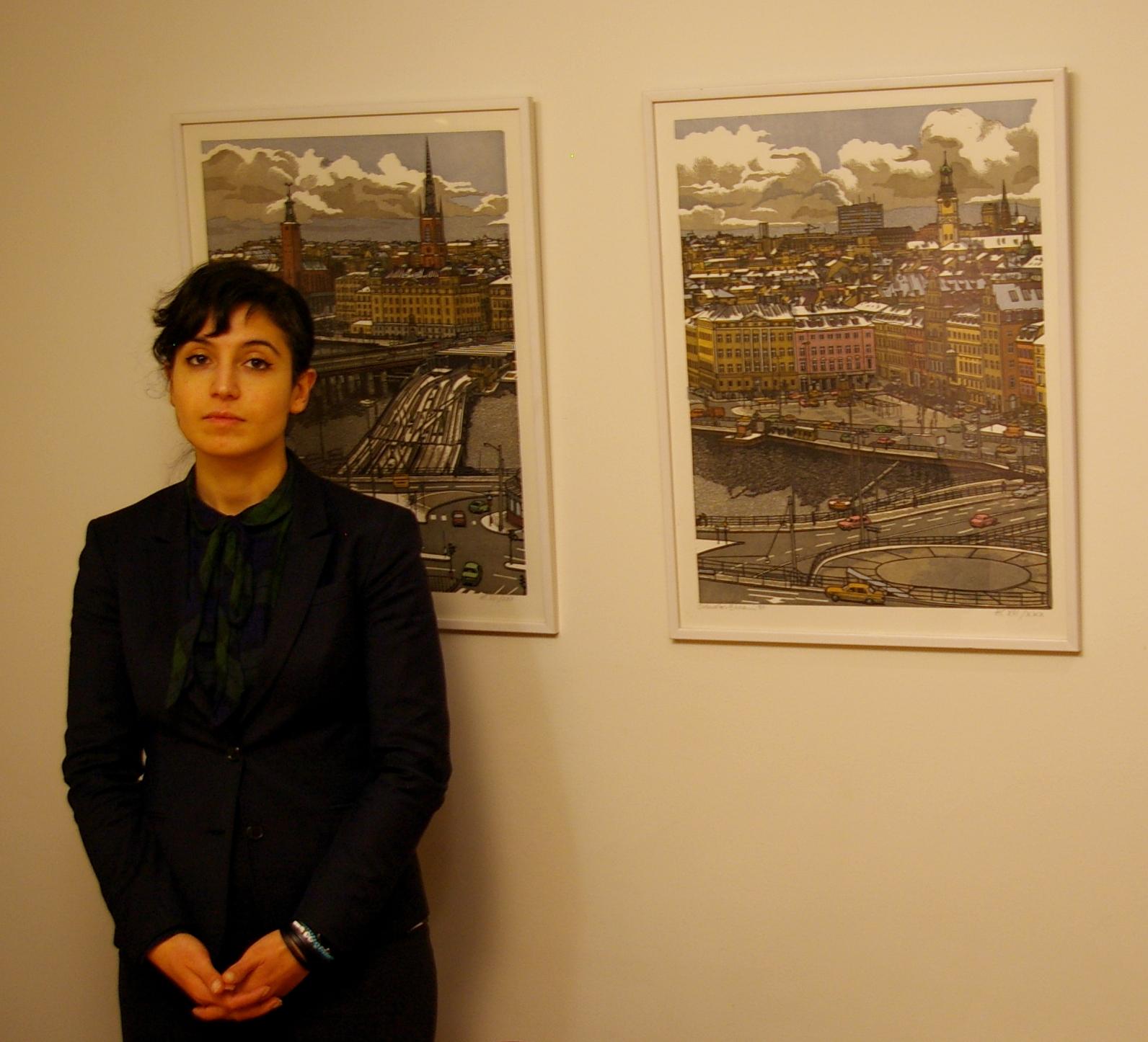 Nikta Nabavi, Unionen, är förtegen om hur facket kommer att agera för att få Ryanair till förhandlingsbordet. Foto: Erik Hjärtberg