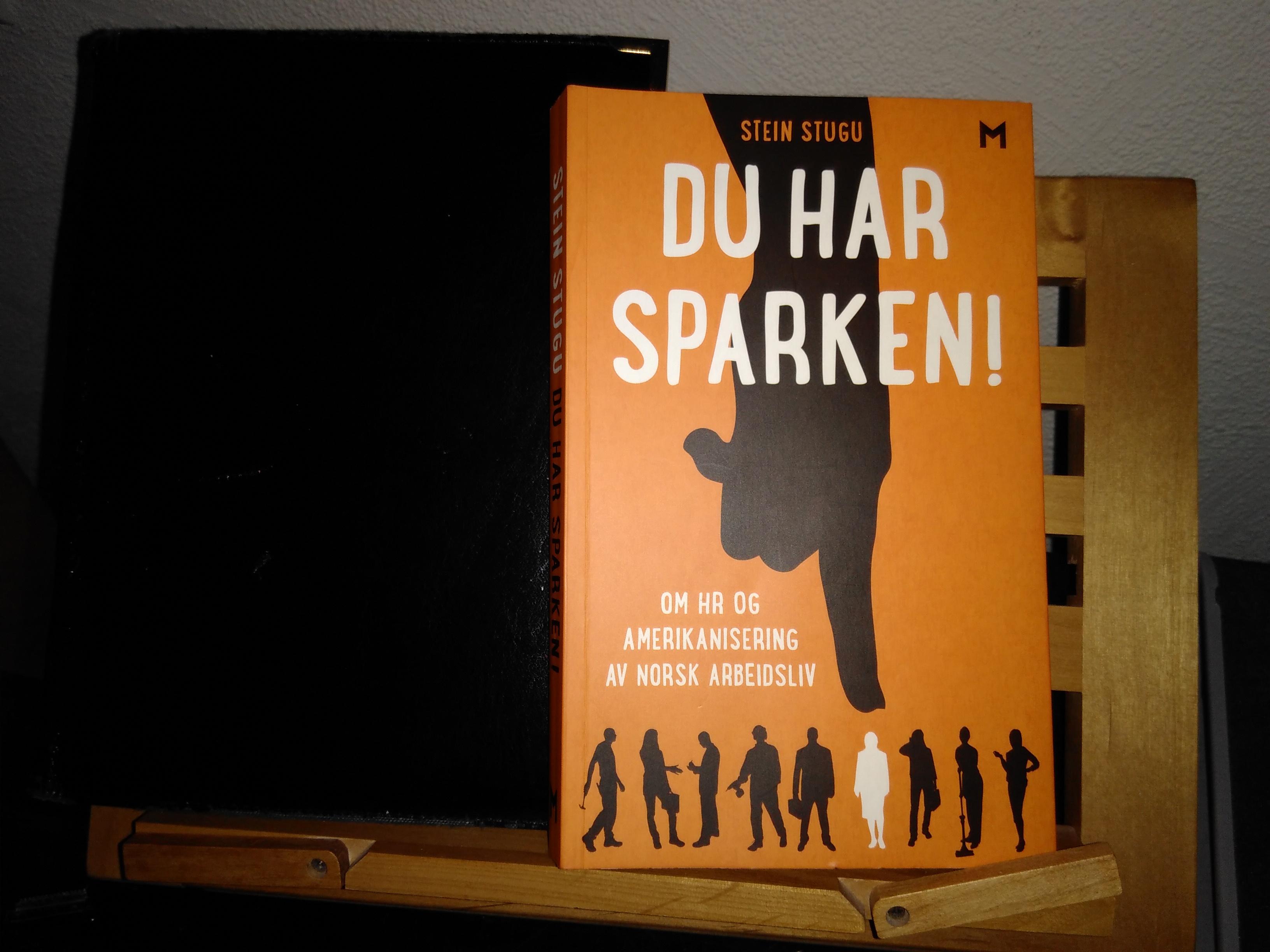 "Stein Stugu, ""Du har sparken!"". Foto: Erik Hjärtberg"